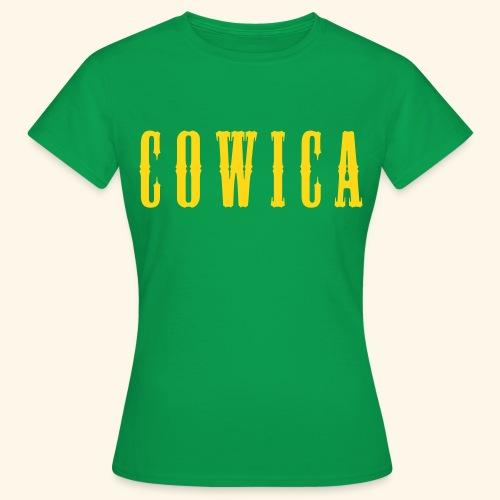 Cowica T-Shirt (Women) green - Women's T-Shirt