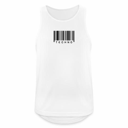 Techno Barcode - Tanktop - Männer Tank Top atmungsaktiv