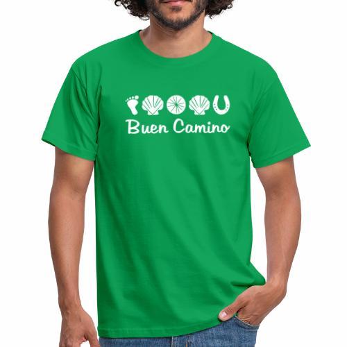 BuenCamino Herren Pilger-Shirt - Männer T-Shirt