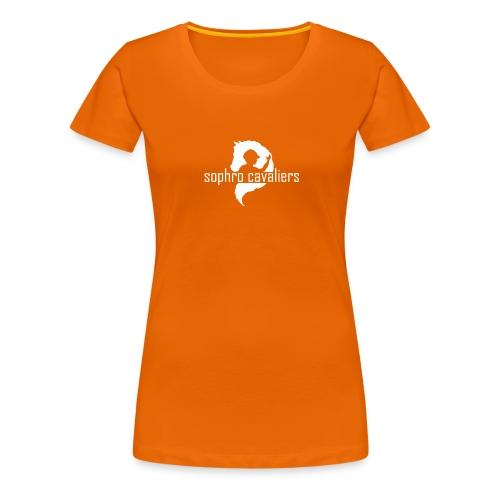 T-Shirt FEMME col simple Multicouleur - T-shirt Premium Femme