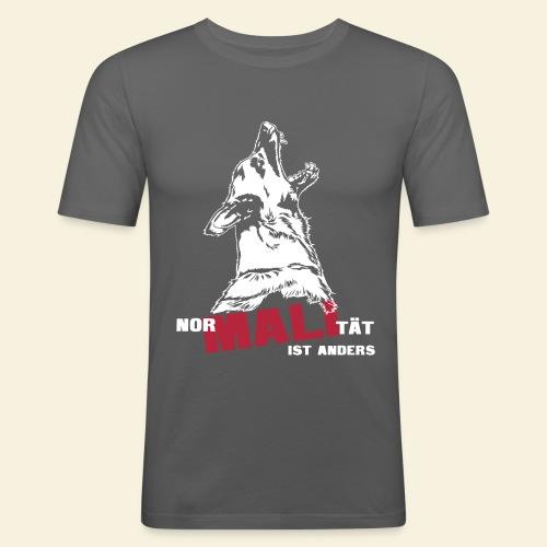 Nor-MALI-tät ist anders - Männer Slim Fit T-Shirt