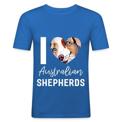 Australian Shepherd T-Shirts, Hoodies & Geschenkideen - Männer Slim Fit T-Shirt