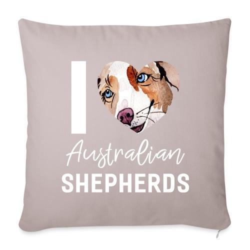 Australian Shepherd T-Shirts, Hoodies & Geschenkideen - Sofakissenbezug 44 x 44 cm