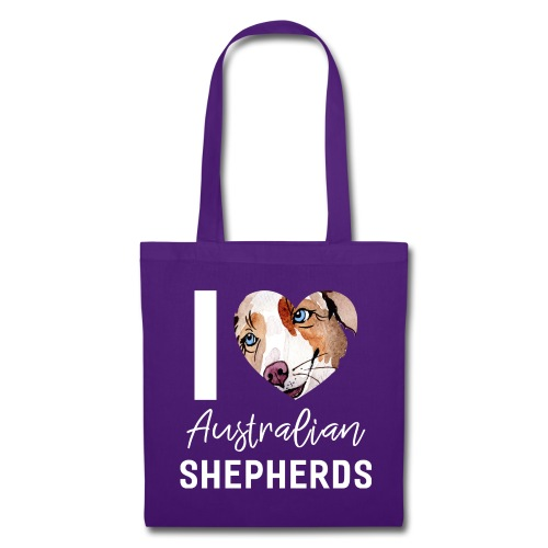 Australian Shepherd T-Shirts, Hoodies & Geschenkideen - Stoffbeutel