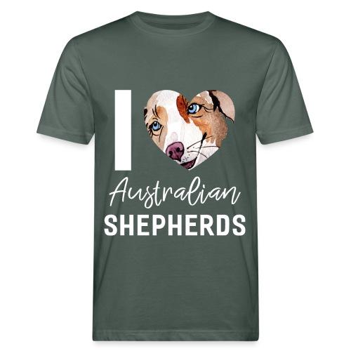 Australian Shepherd T-Shirts, Hoodies & Geschenkideen - Männer Bio-T-Shirt