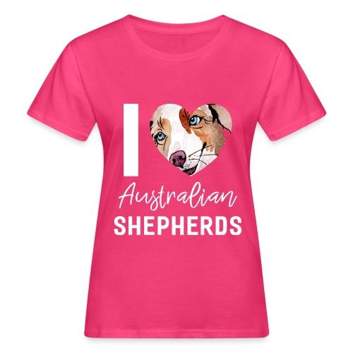 Australian Shepherd T-Shirts, Hoodies & Geschenkideen - Frauen Bio-T-Shirt