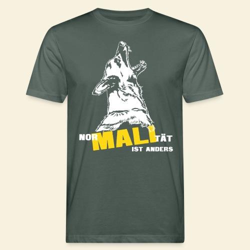 Nor-MALI-tät ist anders - Männer Bio-T-Shirt
