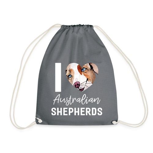 Australian Shepherd T-Shirts, Hoodies & Geschenkideen - Turnbeutel