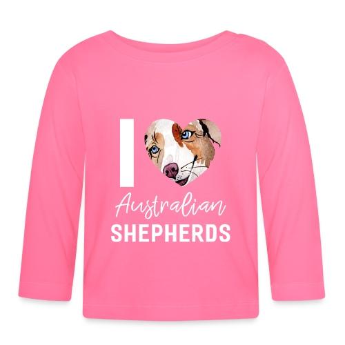 Australian Shepherd T-Shirts, Hoodies & Geschenkideen - Baby Langarmshirt