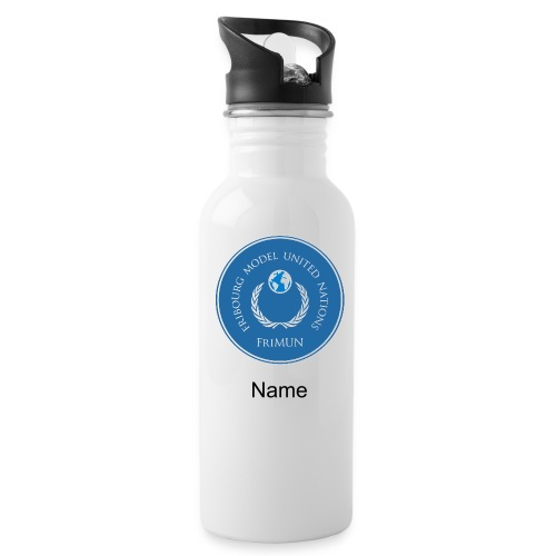 FriMUN Bottle + Name - Trinkflasche