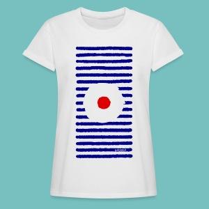 T-shirt oversize Femme Marinière A - T-shirt oversize Femme