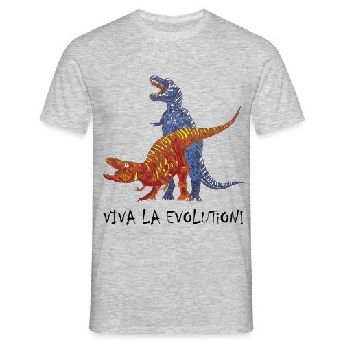 Viva la Evolution - Männer T-Shirt
