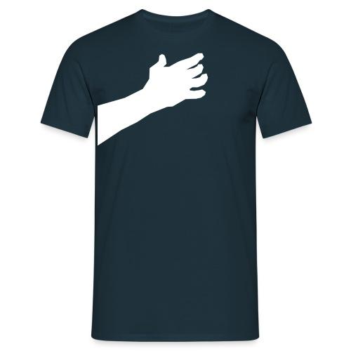 Main autour du cou - T-shirt Homme