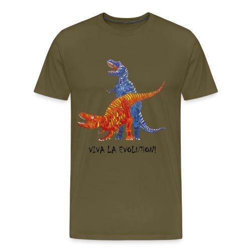 Viva la Evolution - Männer Premium T-Shirt