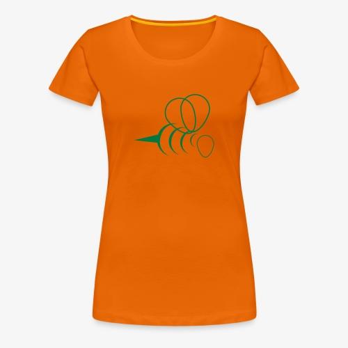 Hummel BEE Happy - Woman T-Shirt, Flexdruck Glitzer - Frauen Premium T-Shirt