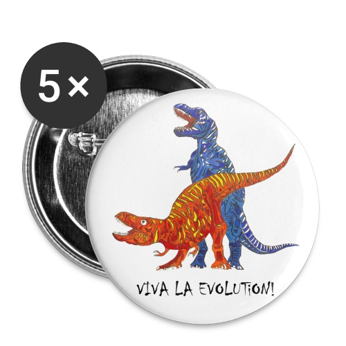 Viva la Evolution - Buttons groß 56 mm