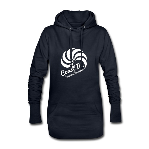 hoodie dress/long hoodie -women - Hoodie Dress