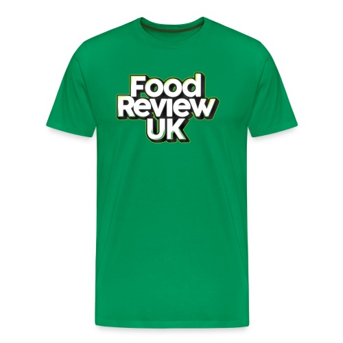 Food Review UK (Green Highlights) - Men's Premium T-Shirt