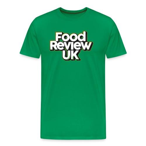Food Review UK (Green Highlights) - Men's Premium T-Shirt