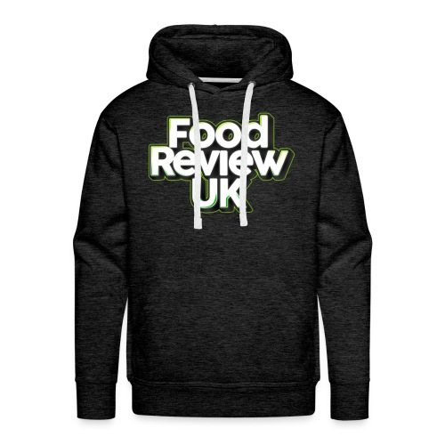 Food Review UK (Green Highlights) Hoodie - Men's Premium Hoodie