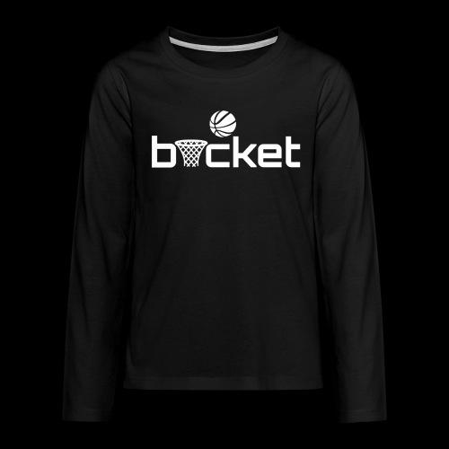 teens long sleeve bucket - Teenagers' Premium Longsleeve Shirt