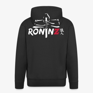RoninZ Kapuzenpullover - Männer Premium Kapuzenjacke