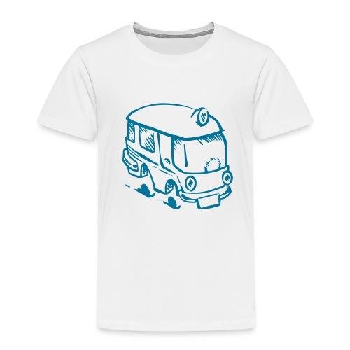B-U_L_L_I Bus Van Design - Kinder Premium T-Shirt