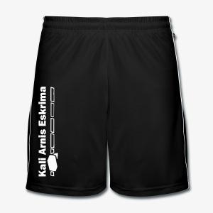 Simply Shorts Kali Arnis Eskrima  - Männer Fußball-Shorts