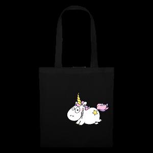 cloth bag flying unicorn - Stoffbeutel