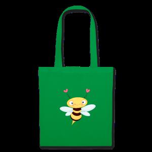 cloth bag bee - Stoffbeutel