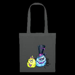 cloth bag spider monster - Stoffbeutel