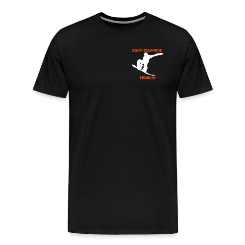 T-shirt Francky Noir - T-shirt Premium Homme