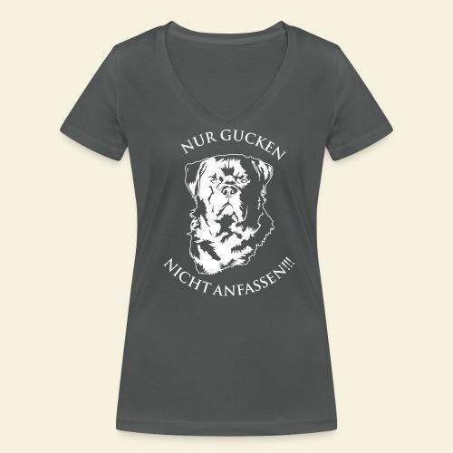 Rottweiler - Frauen Bio-T-Shirt mit V-Ausschnitt von Stanley & Stella