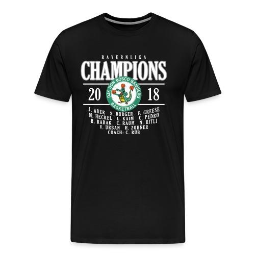 DJK Bamberg Champions 2018 - Männer Premium T-Shirt