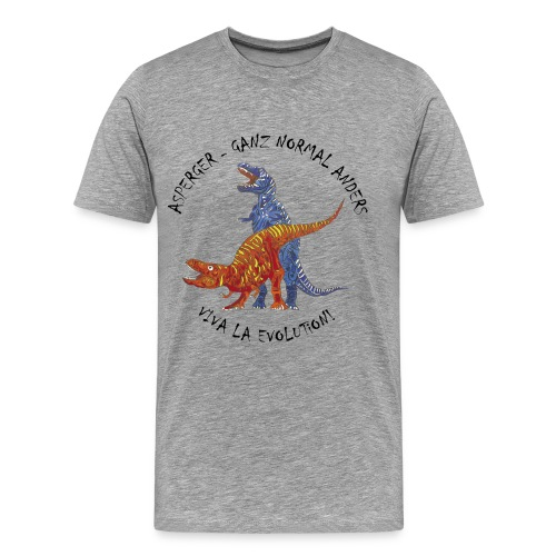 Asperger - Ganz Normal Anders  - Männer Premium T-Shirt