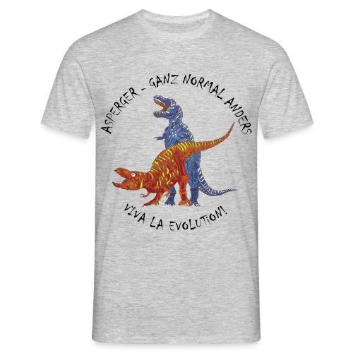Asperger - Ganz Normal Anders  - Männer T-Shirt