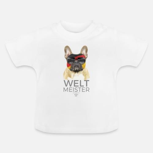 Weltmeister Deutschland - Baby T-Shirt