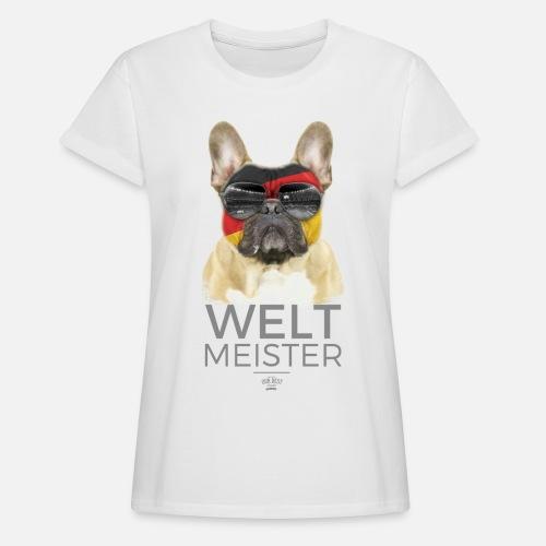 Weltmeister Deutschland - Frauen Oversize T-Shirt - Frauen Oversize T-Shirt