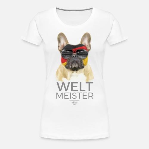 Weltmeister Deutschland - Frauen Premium T-Shirt