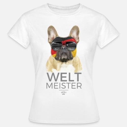 Weltmeister Deutschland - Frauen T-Shirt