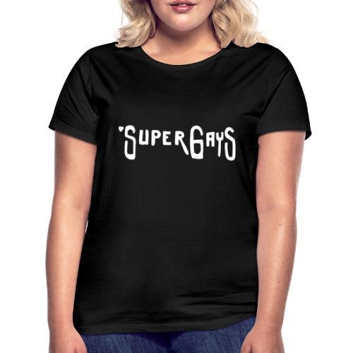 Berlin Graffiti: SUPERGAYS - Frauen T-Shirt