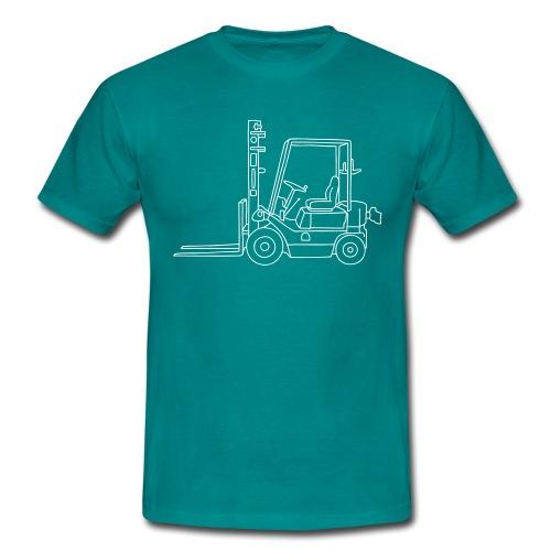 Gabelstapler Hubstapler - Männer T-Shirt