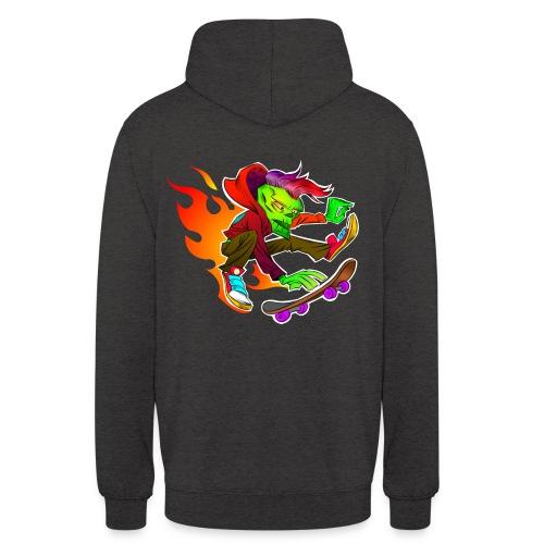 Skater on Fire - Unisex Hoodie
