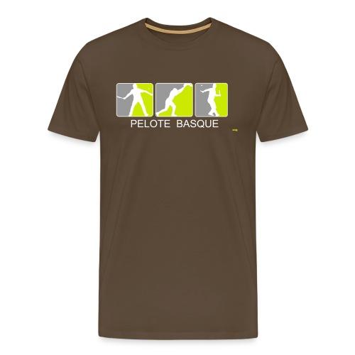 3 Joueurs de Pelote Basque I - T-shirt Premium Homme