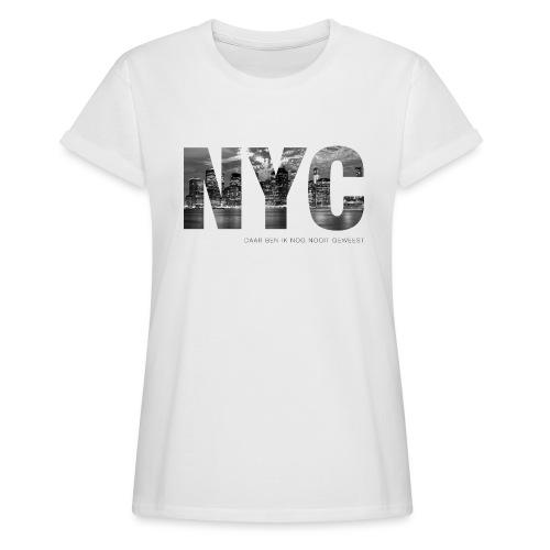 NYC vrouwen oversize - Vrouwen oversize T-shirt