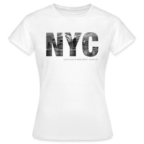 NYC vrouwen t-shirt - Vrouwen T-shirt