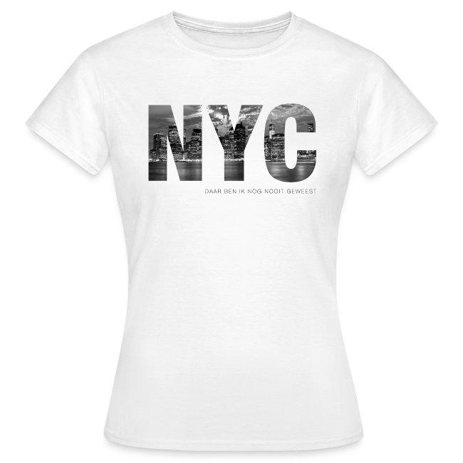 NYC vrouwen t-shirt