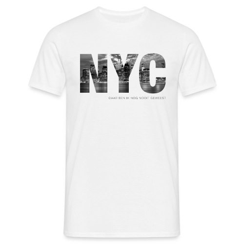 NYC mannen t-shirt - Mannen T-shirt