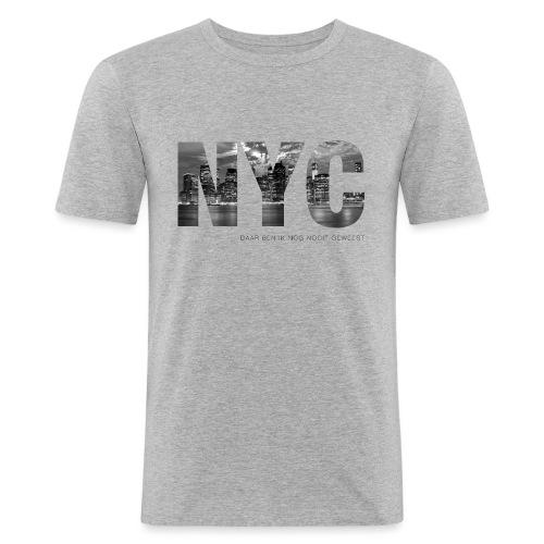 NYC mannen slimfit - slim fit T-shirt