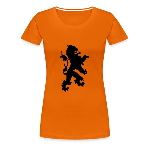 Nederlandse Leeuw Dames Shirt - Vrouwen Premium T-shirt